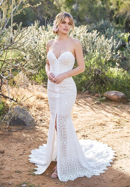 Lillian West 6513 Mermaid Wedding Dress