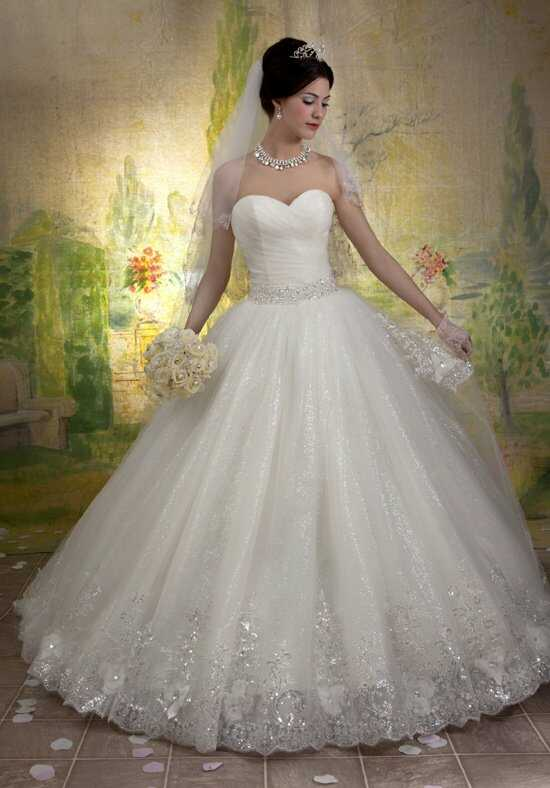1 Wedding by Mary's Bridal 6146 Ball Gown Wedding Dress