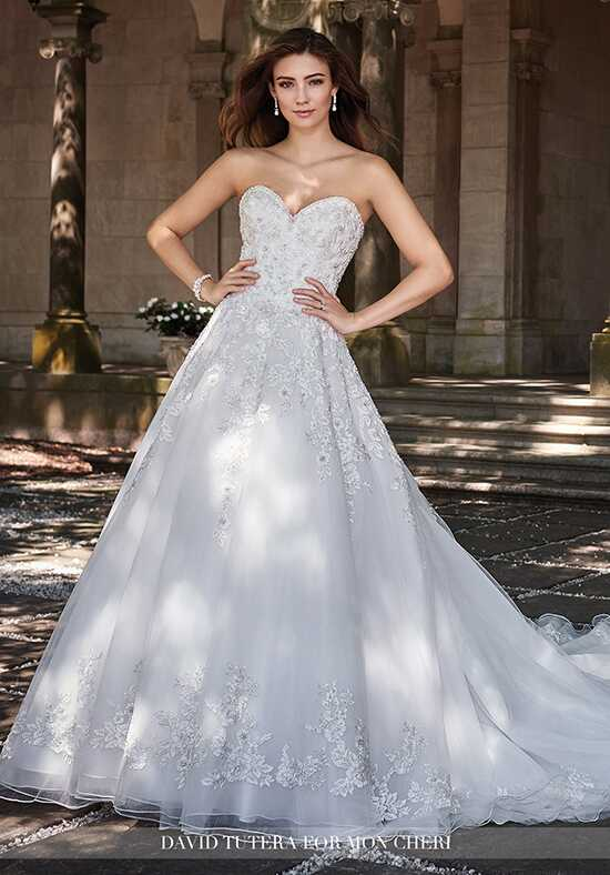 David Tutera for Mon Cheri 117281 Zarina Ball Gown Wedding Dress