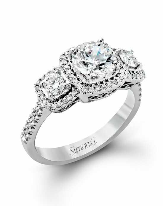 Simon G. Jewelry MR2080 Engagement Ring photo