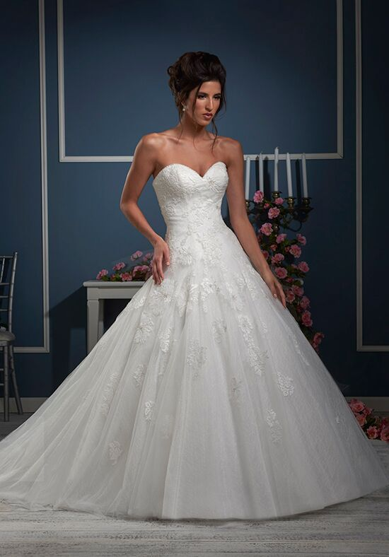 Essence Collection by Bonny Bridal 8610 A-Line Wedding Dress