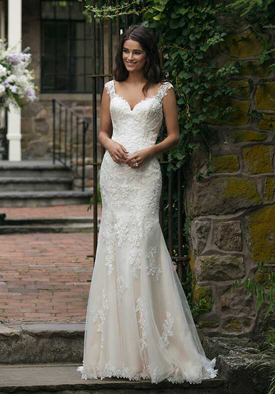 Sincerity Bridal 44054 Sheath Wedding Dress