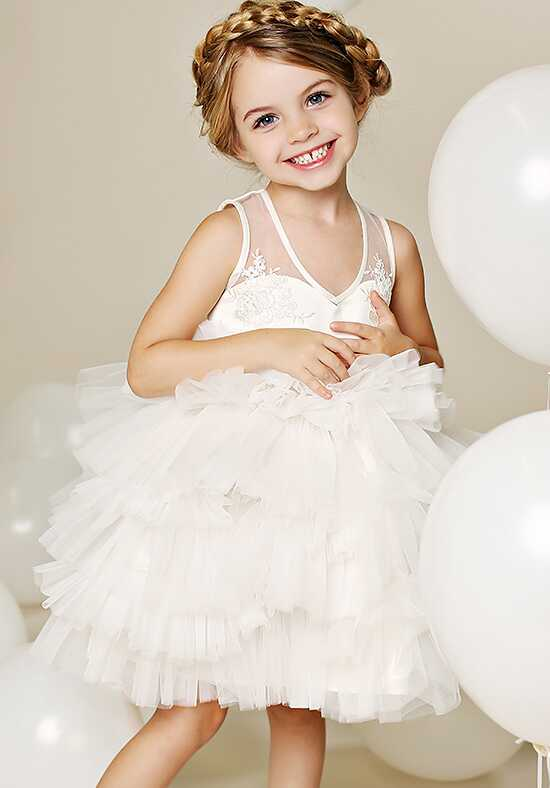 FATTIEPIE Venice Ivory Flower Girl Dress