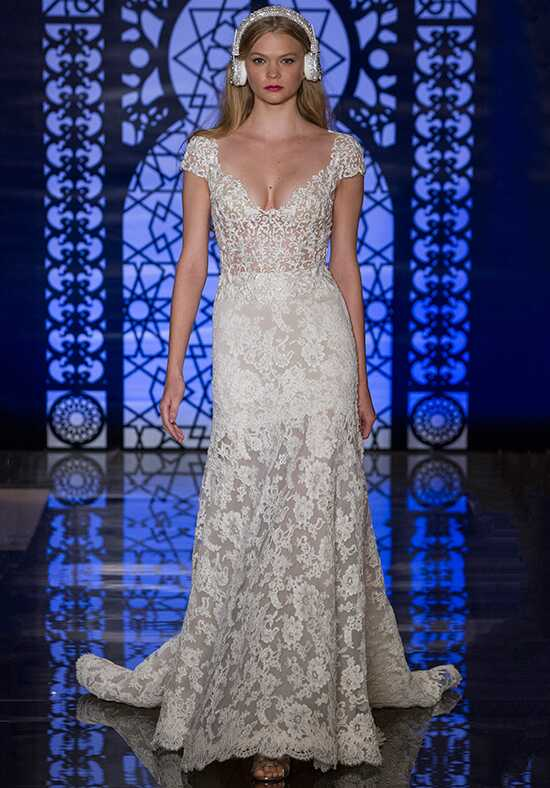 Reem Acra Josette A-Line Wedding Dress