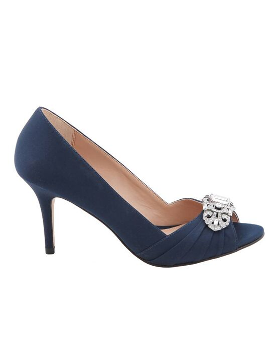 Nina Bridal Wedding Accessories Verity_Navy Blue Shoe