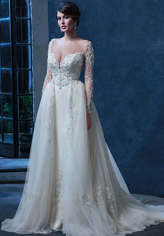 Amaré Couture C128 Penelope Ball Gown Wedding Dress