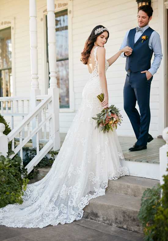 Martina Liana 817 Sheath Wedding Dress