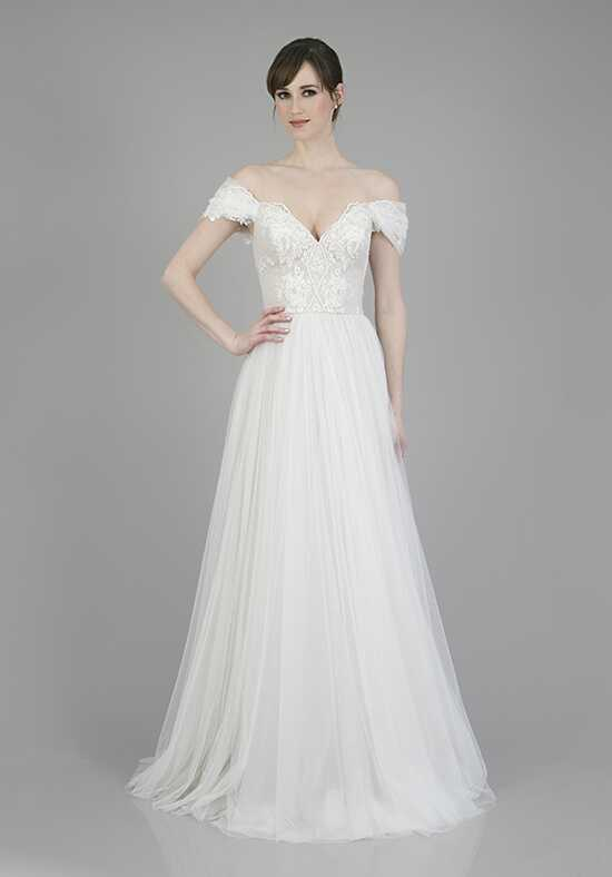 THEIA Harper A-Line Wedding Dress
