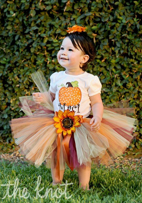 Little miss princess tutu autumn theme tutu flower girl dress the knot little miss princess tutu autumn theme tutu flower girl dress mightylinksfo