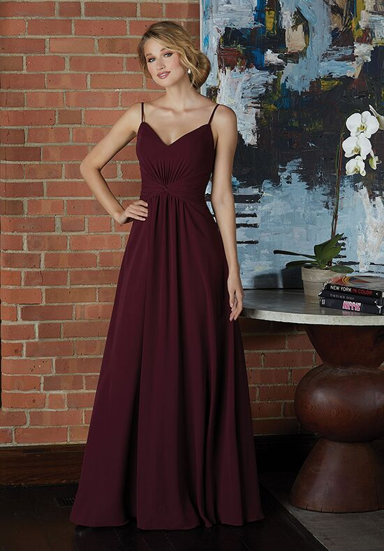 Morilee by Madeline Gardner Bridesmaids 21592 V-Neck Bridesmaid Dress
