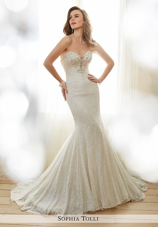 Sophia Tolli Y11708 Angelique Mermaid Wedding Dress