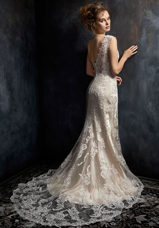Kenneth Winston 1743 A-Line Wedding Dress