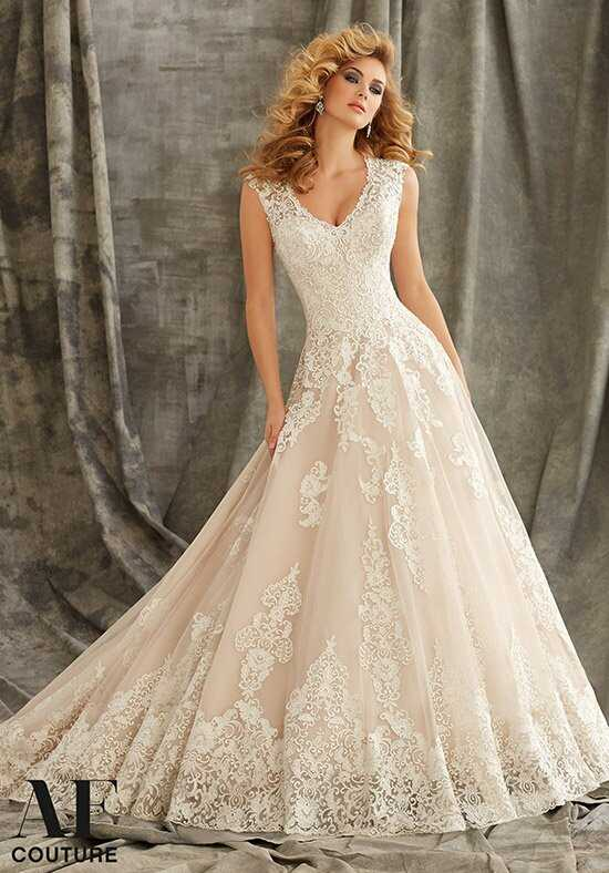 AF Couture: A Division of Morilee by Madeline Gardner 1344 A-Line Wedding Dress
