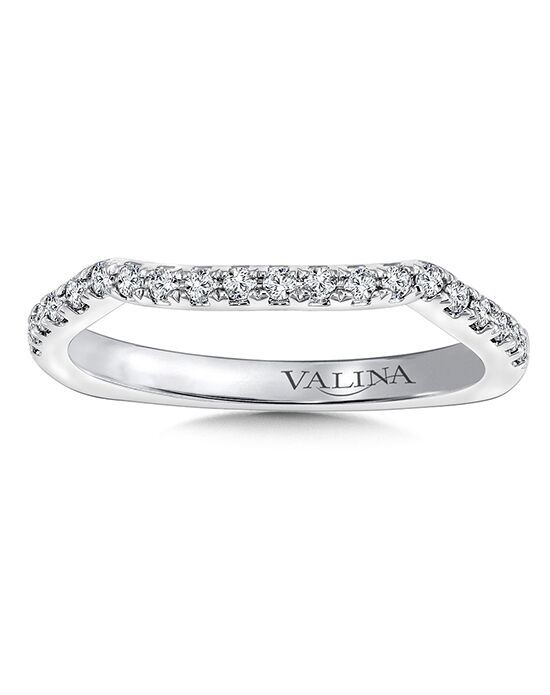 Valina R9675BW White Gold Wedding Ring