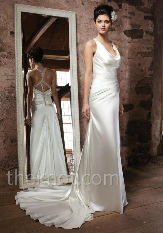 Sincerity Bridal 3703 Sheath Wedding Dress