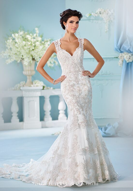 Martin Thornburg a Mon Cheri Collection 216246 Nerida Wedding Dress ...