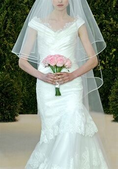 Carolina Herrera Andrea A-Line Wedding Dress