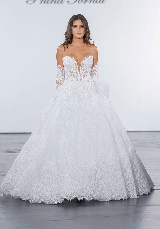 Pnina Tornai for Kleinfeld 4637 Ball Gown Wedding Dress