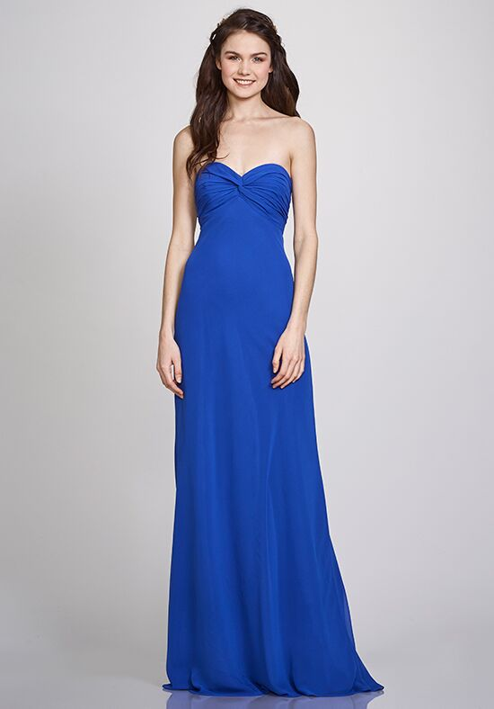 THEIA Bridesmaids Julie Strapless Bridesmaid Dress
