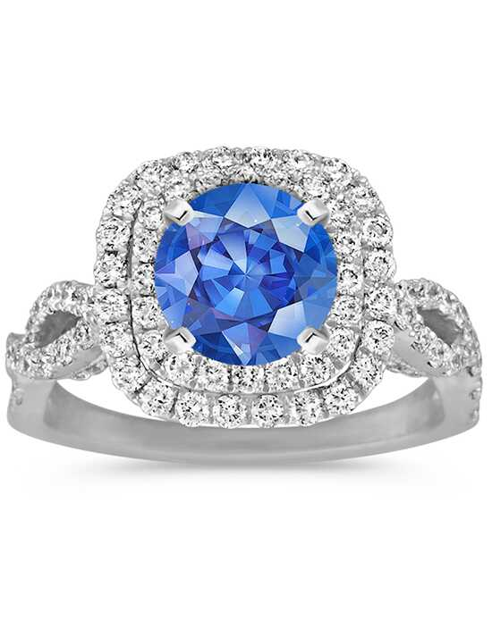 Shane Co. Glamorous Cushion Cut Engagement Ring