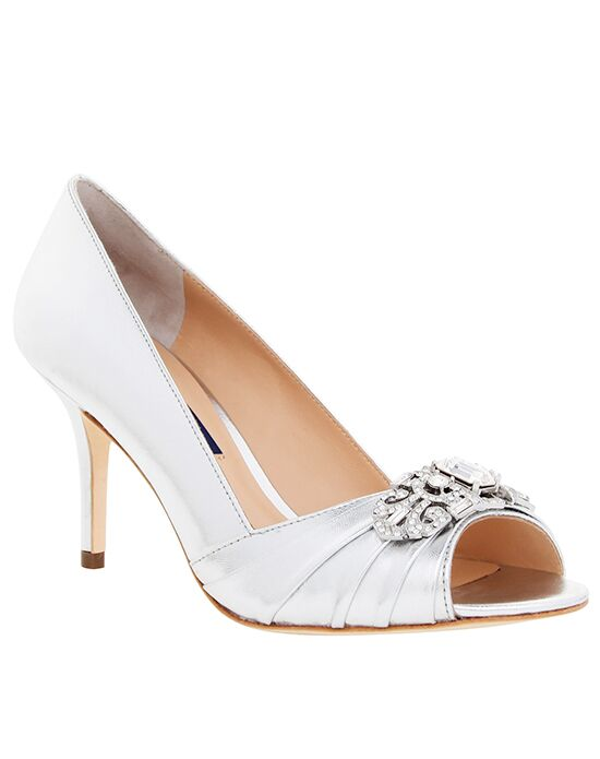 Nina Bridal Wedding Accessories Verity_Silver Silver Shoe