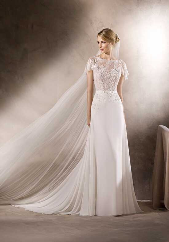 LA SPOSA HUBERTA Sheath Wedding Dress
