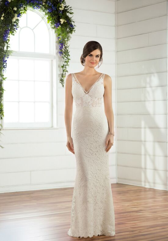 Essense of Australia D2474 Sheath Wedding Dress