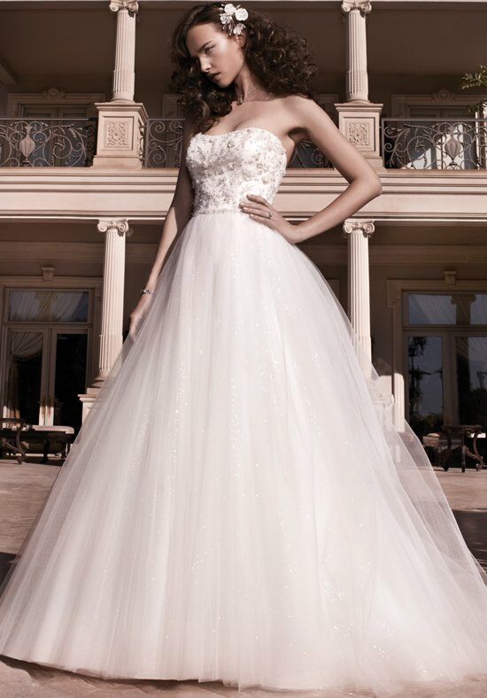 Casablanca Bridal 2137 Ball Gown Wedding Dress