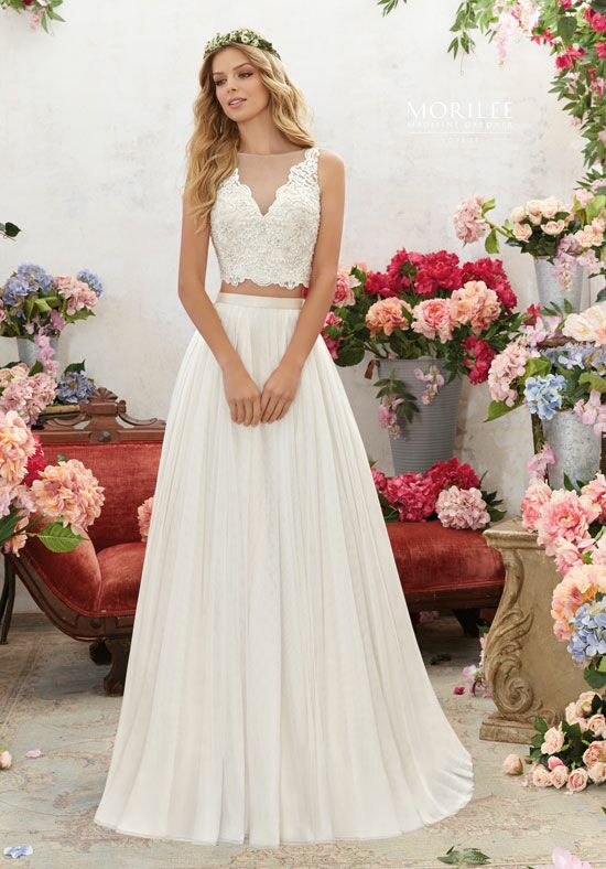 Morilee by Madeline Gardner/Voyage 6856 A-Line Wedding Dress