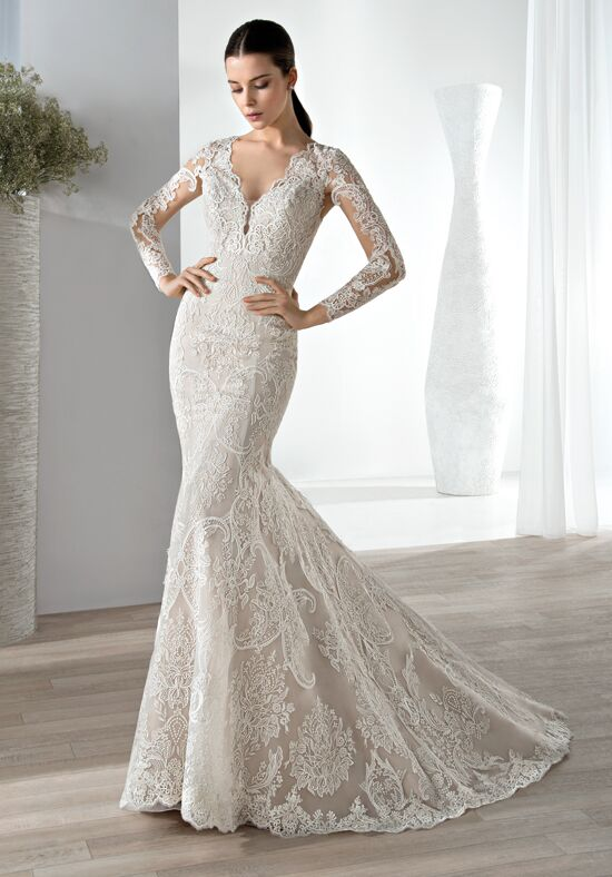 Demetrios 636 Mermaid Wedding Dress