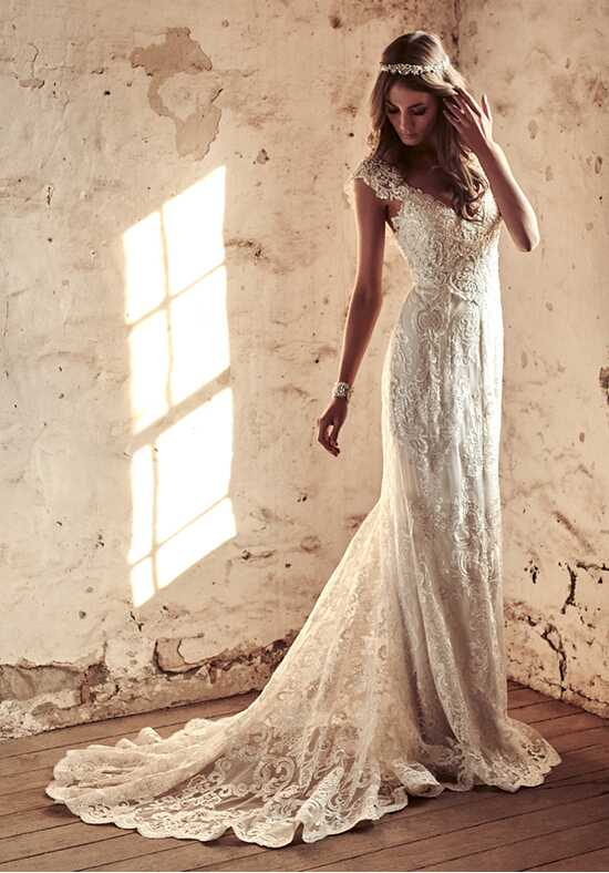 Anna Campbell Alyssa Dress A-Line Wedding Dress