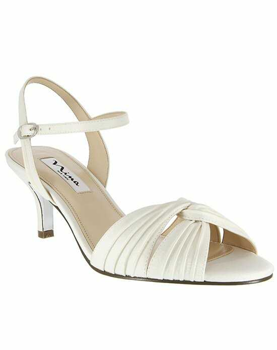 Nina Bridal Wedding Accessories CAMILLE_IVORY Ivory Shoe