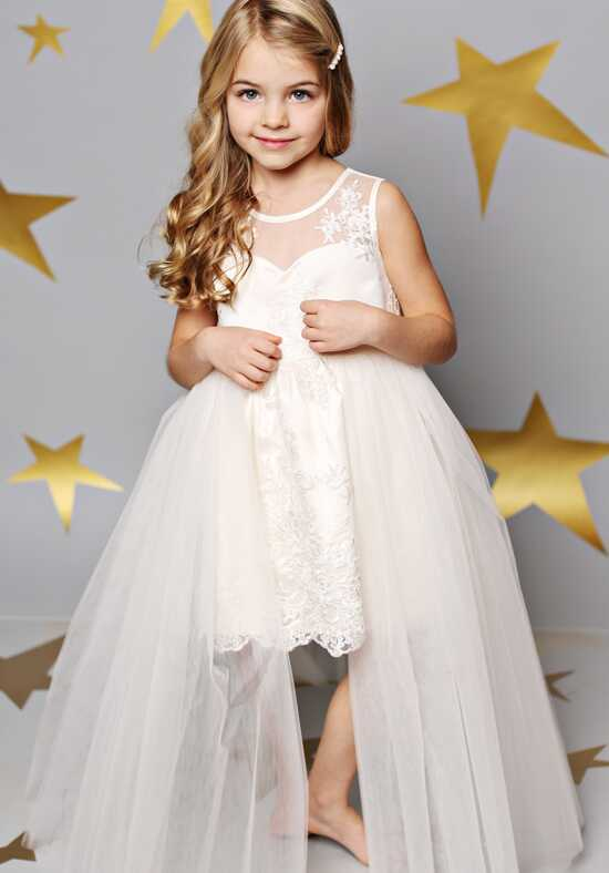 FATTIEPIE Victoria Ivory Flower Girl Dress