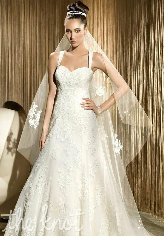 Demetrios 1410 A-Line Wedding Dress
