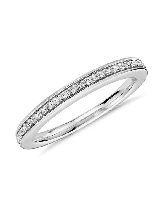 Colin Cowie Pave Diamond Ring (1/10 ct. tw.) Platinum Wedding Ring