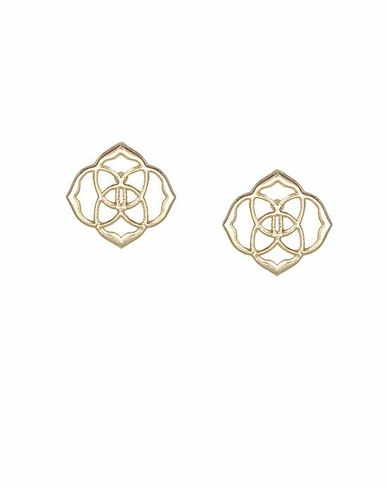 Kendra Scott Dira Stud Earrings in Gold Wedding Earring photo