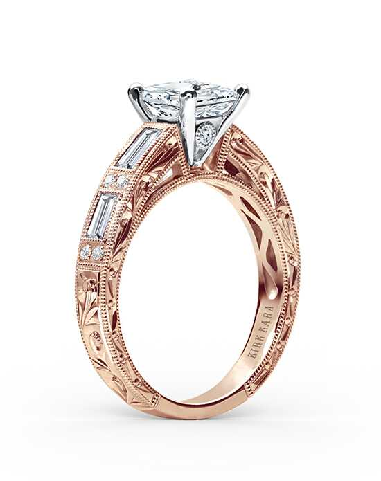 Kirk Kara Charlotte Collection SS6685D-RR Engagement Ring photo