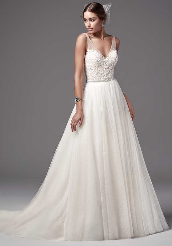 Sottero and Midgley Nakara bodysuit with Bisette skirt A-Line Wedding Dress