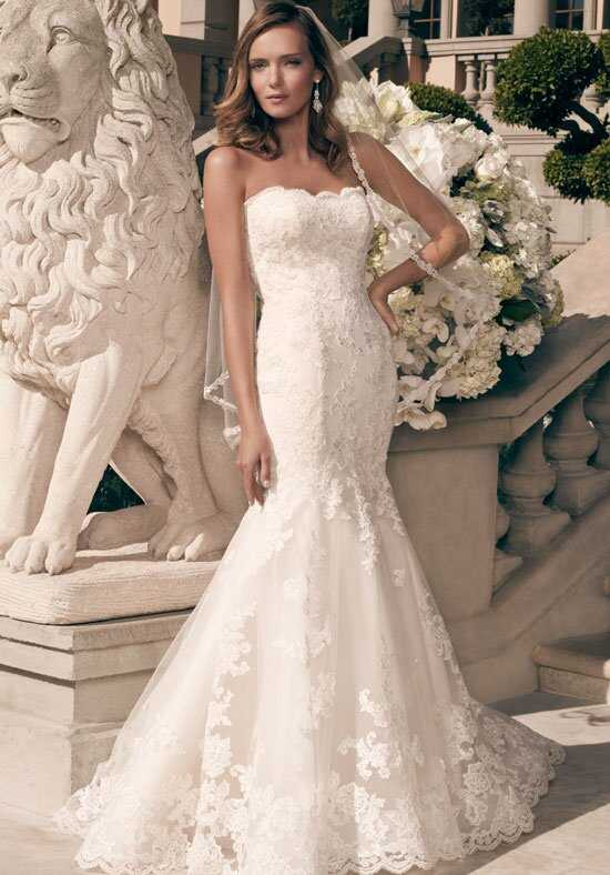Casablanca Bridal 2163 Mermaid Wedding Dress