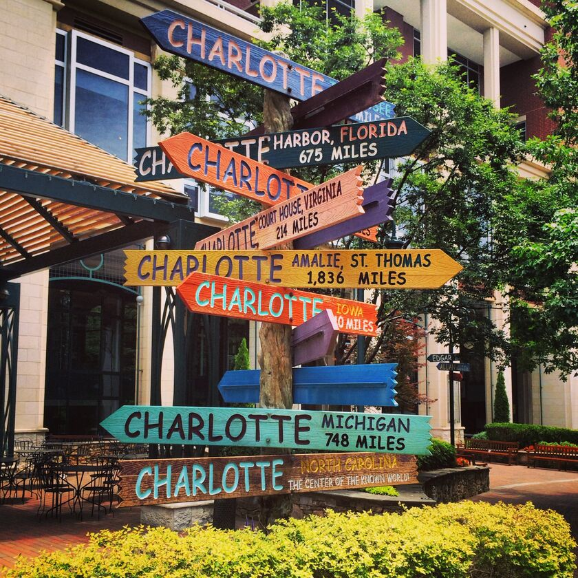 101 South Tryon Street (Suite 16 - Overstreet Mall) Charlotte, NC ...