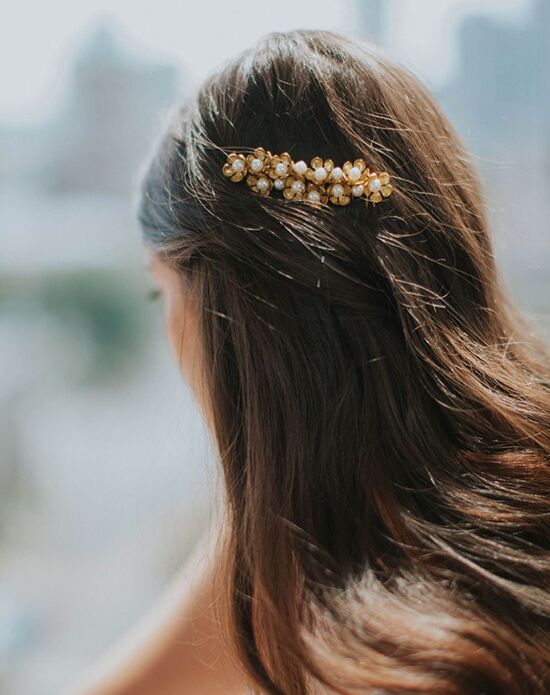 Davie & Chiyo | Hair Accessories & Veils Abigail Comb Gold, Silver Pins, Combs + Clip