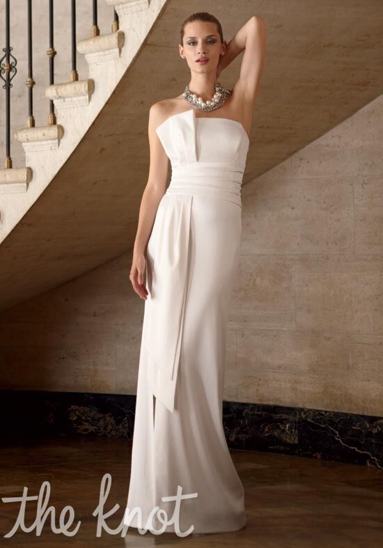 White house black market 570008477 wedding dress the knot for White house black market wedding dresses