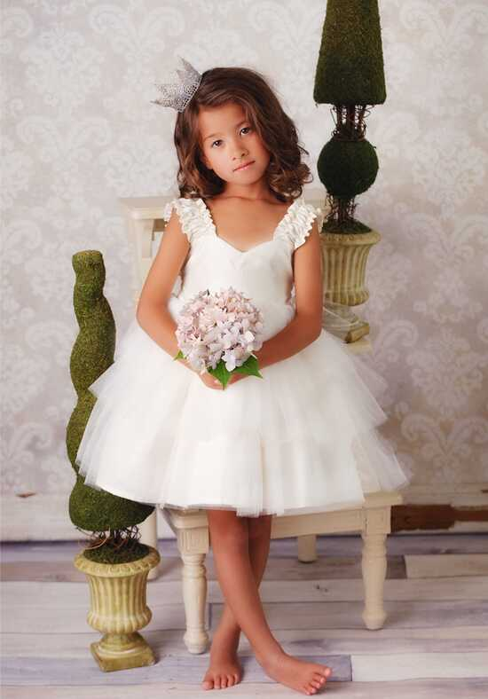 FATTIEPIE Juliet Ivory Flower Girl Dress