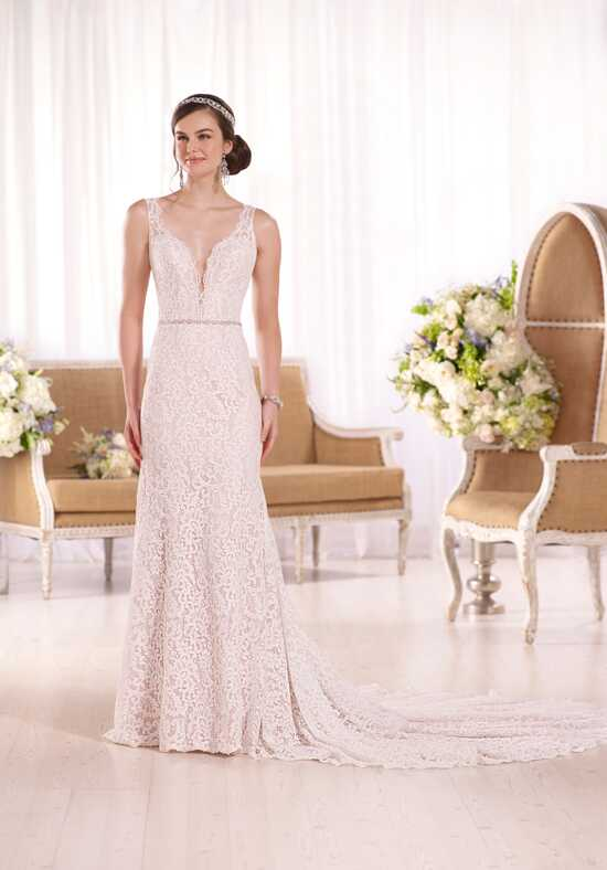Essense of Australia D2046 Sheath Wedding Dress