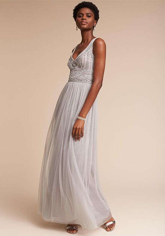 BHLDN (Bridesmaids) Sterling V-Neck Bridesmaid Dress