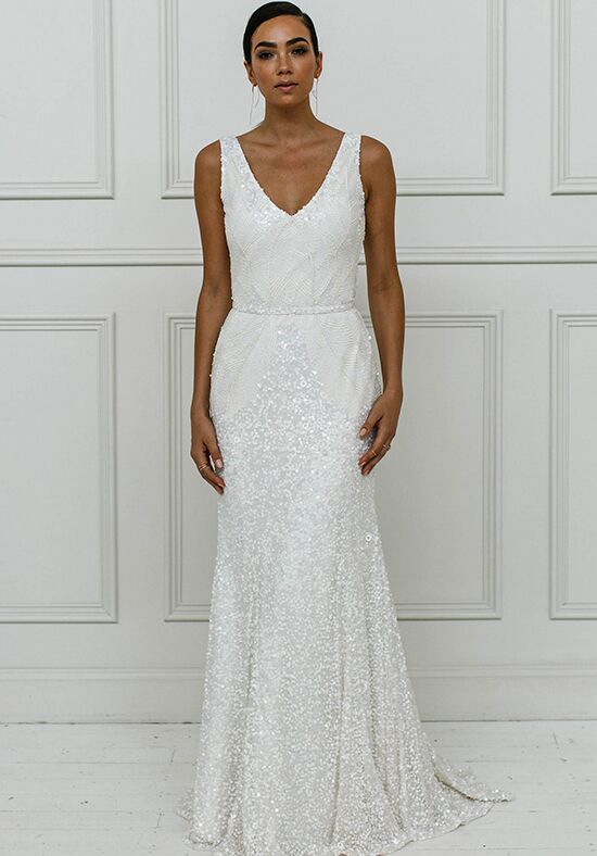 KAREN WILLIS HOLMES Olympia Mermaid Wedding Dress
