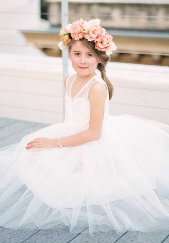 FATTIEPIE Belle2 Ivory Flower Girl Dress