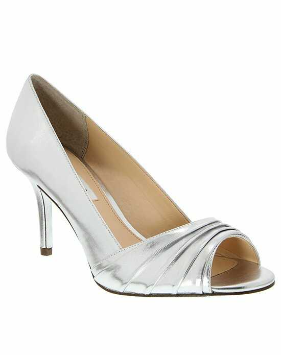 Nina Bridal Wedding Accessories VESTA_SILVER FOIL CALF PU Silver