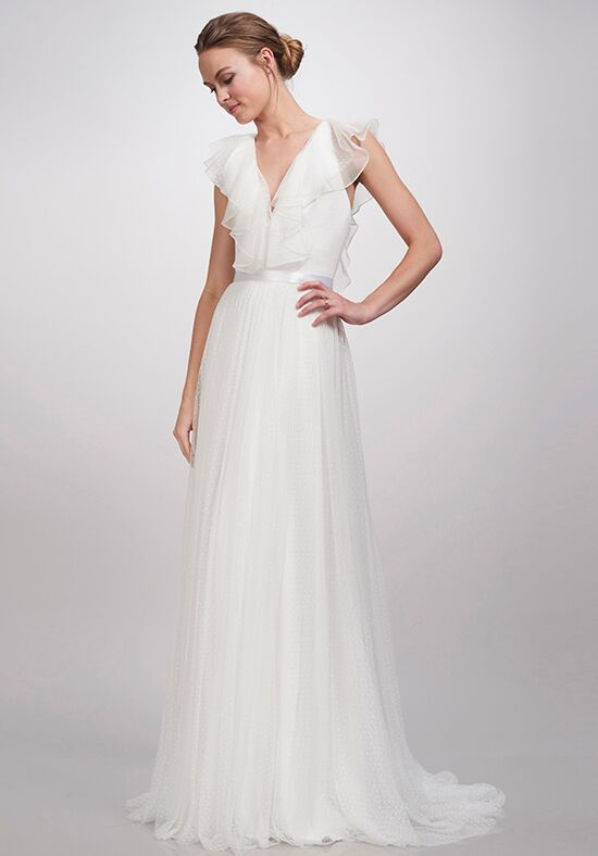 THEIA Aurora A Line Wedding Dress