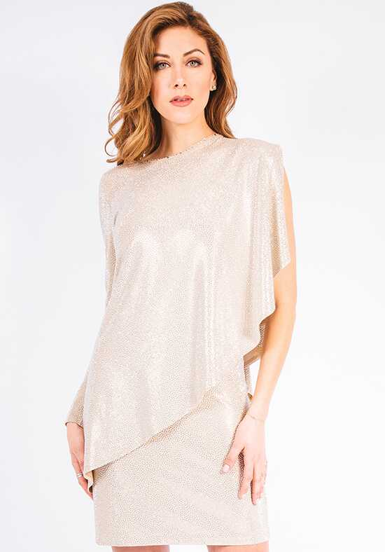 Grayse Wedding Party Pave Stingray Asymmetrical Top - W5450402 Ivory Mother Of The Bride Dress